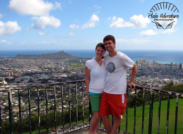 Diamond Head in the Background