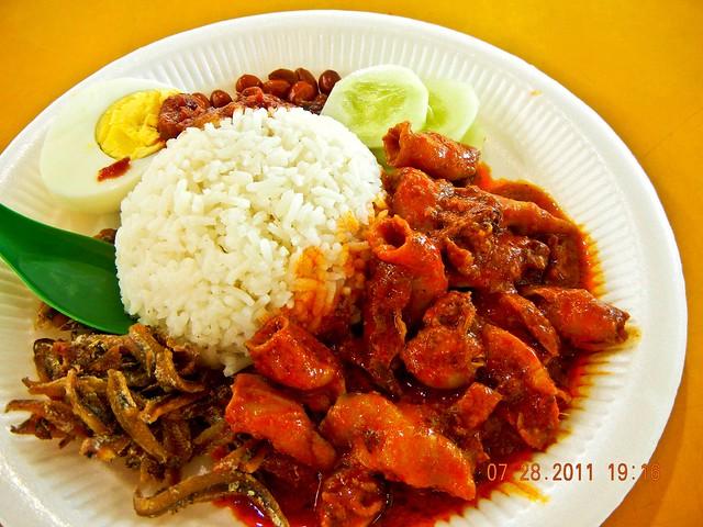 DSCN1910 Sotong nasi lemak, 墨鱼椰浆饭