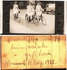 """Three lady cyclists, Germany, 11 August 1927 • <a style=""""font-size:0.8em;"""" href=""""http://www.flickr.com/photos/24469639@N00/6053741239/"""" target=""""_blank"""">View on Flickr</a>"""
