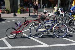 Bikes in Lewes