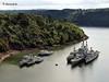 Landévennec - Cimetière de bateaux II (daad-art) Tags: colbert landévennec cimetièredebateaux croiseur c611