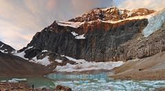 DSC_2541 (mingzkl) Tags: blue cloud snow canada ice sunrise rockies nikon falls cave jaspernationalpark floatingice angelglacier 28f28ais mountainedith