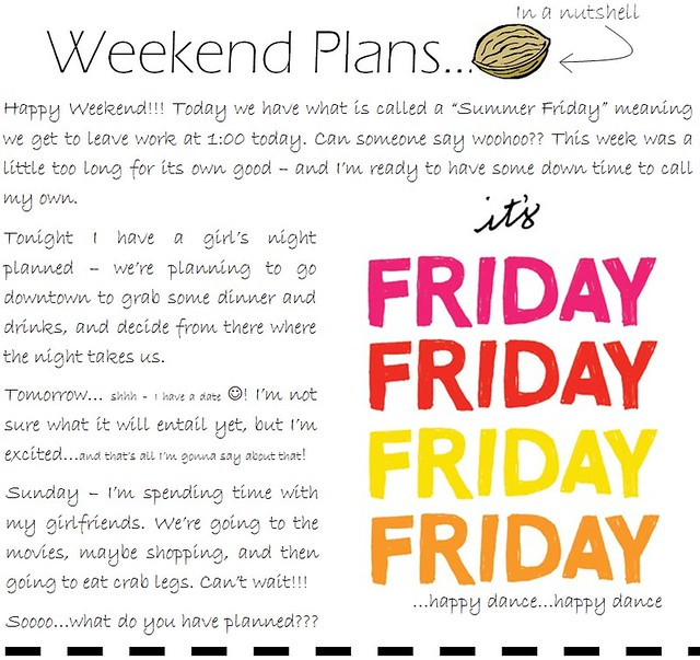 weekend plans 8.19