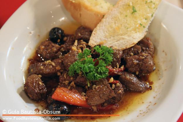 Krazy Garlik Beef Salpicao
