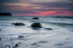 Cold Sea (Dietrich Bojko Photographie) Tags: longexposure morning sea seascape nature sunrise germany landscape deutschland see meer europe stones balticsea baltic rgen landschaft ostsee ruegen vitt kaparkona dietrichbojko islandofrgen islandrgen d7000 dietrichbojkophotographie