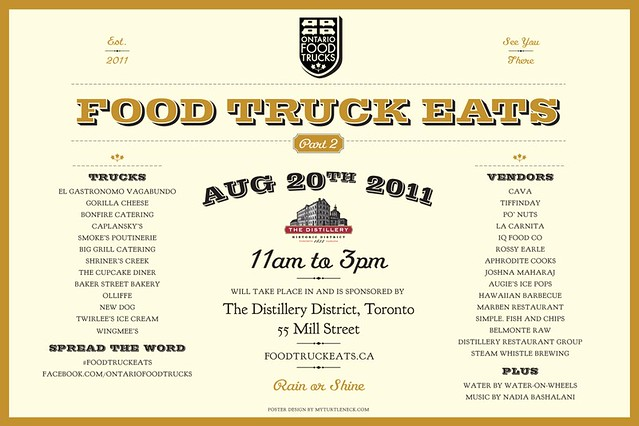 Food Truck Eats, this Saturday!