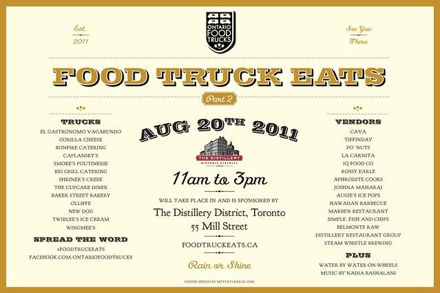 Food Truck Eats, this Saturday!