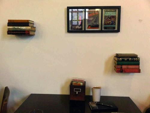 readers cafe Blue Bottle coffee in San Francisco