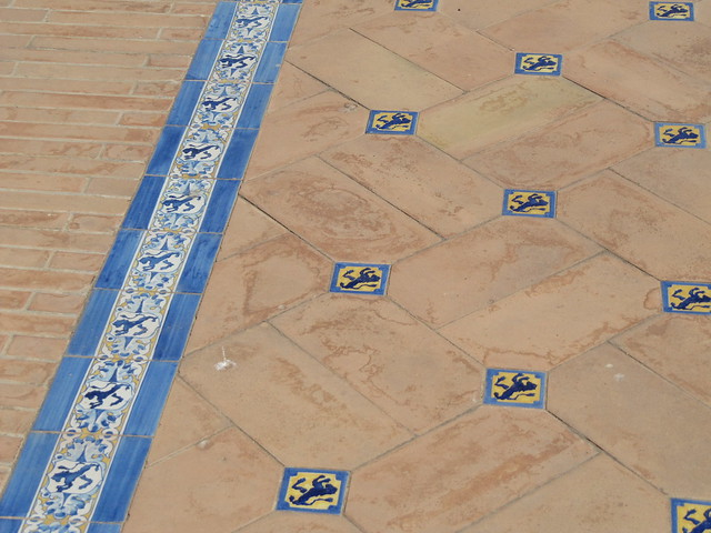 Plaza de Espana Seville tiles
