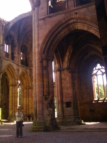 Melrose Abbey, Scotland 02