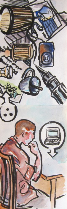 Chris Computer Sketch by Danalynn C