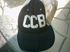 Clark County Bank baseball cap, used in 1975