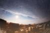 Eye-opening (y2-hiro) Tags: city sky sun sunlight reflection clouds nikon fisheye 15mm d3s