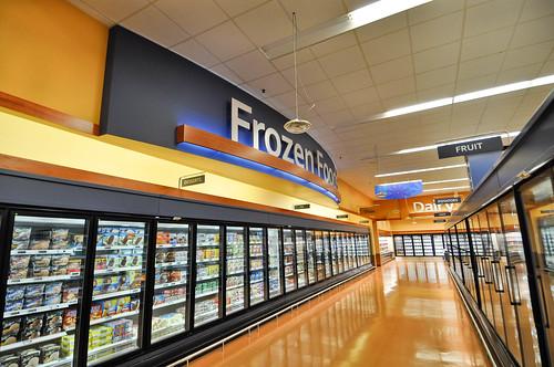 Interior Grocery Design | Frozen Foods Design ...