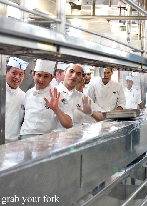 Passengers Kitchen Table Scene