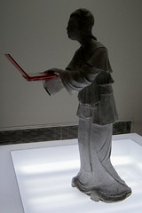 futuristic art in Singapore (yumievriwan) Tags: red art statue museum asian singapore laptop lpfuturistic