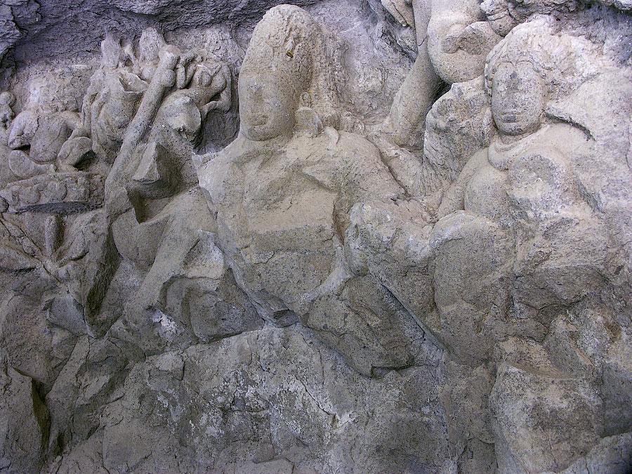 Шива. Скальные храмы, остров Элефанта© Kartzon Dream - авторские путешествия в Индию