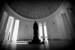 Jefferson Memorial BW (Mustang Koji) Tags: bw canon dc washington memorial zoom thomas jefferson 1022mm 白黒 進駐軍 第八番