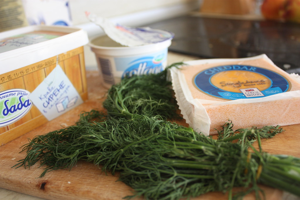 Cheese and dill