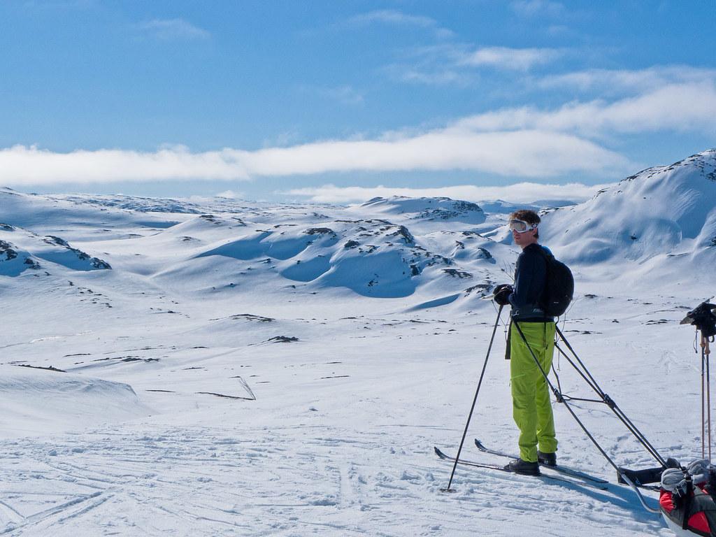 Skitur gjennom Skarvheimen