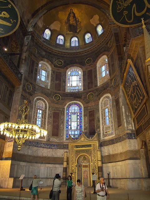 聖索菲亞教堂室內