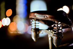 I dont do bikes. (Martin-Klein) Tags: colors bike bicycle nightlights bokeh dsseldorf speedlight k strobist idontdobikes
