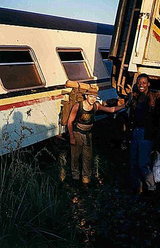 1988, UGANDA, nach Guerilla-Attacke auf Zug von 'Kampala-Nairobi'-03: Verbindung gesprengt Weg nach Ostafrika-16