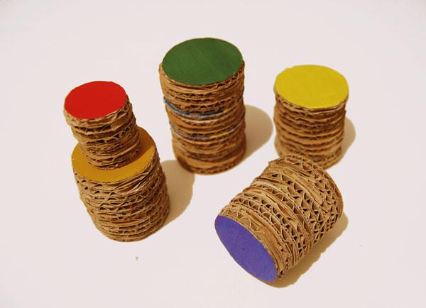 Cardboard-cillinders