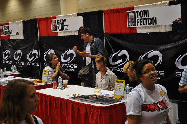 Tom Felton signing session