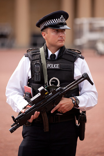 672/1000 - On Patrol outside Buckingham Palace by Mark Carline