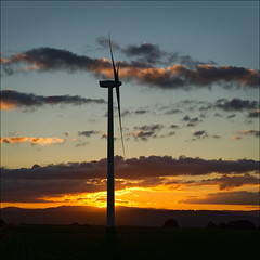waubra-6339-ps-w (pw-pix) Tags: blue sunset sky orange cloud sun tower windmill clouds landscape grey power cloudy australia victoria hills windturbine windfarm ballarat windpower lateafternoon settingsun baldhills powergeneration centralvictoria acciona waubra nearballarat waubrawindfarm