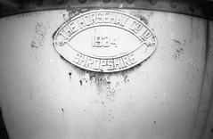 Whitland Bridge Makers Plate ([Scott]) Tags: film lomo lca railway fomapan ilfordid11 whitland film:iso=400 fomafomapan developer:brand=ilford film:brand=foma film:name=fomafomapan400 developer:name=ilfordid11 filmdev:recipe=6784