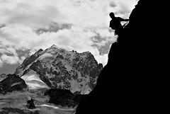 aiguille verte (fimonfabre) Tags: ice pentax glacier climbing chamonix mont blanc verte k10 escalade aiguille