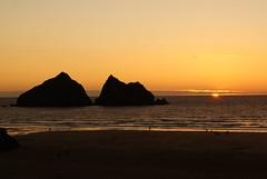 holywell bay (ndrmanic) Tags: sea cornwall alpha230 sony gullrock sunset holywellbay nrnewquay