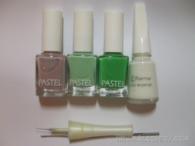 Pastel 88 - 83 - 307 , Flormar 310