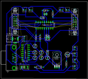 SirLoon · How to create boards with vias and straps with Eagle ?