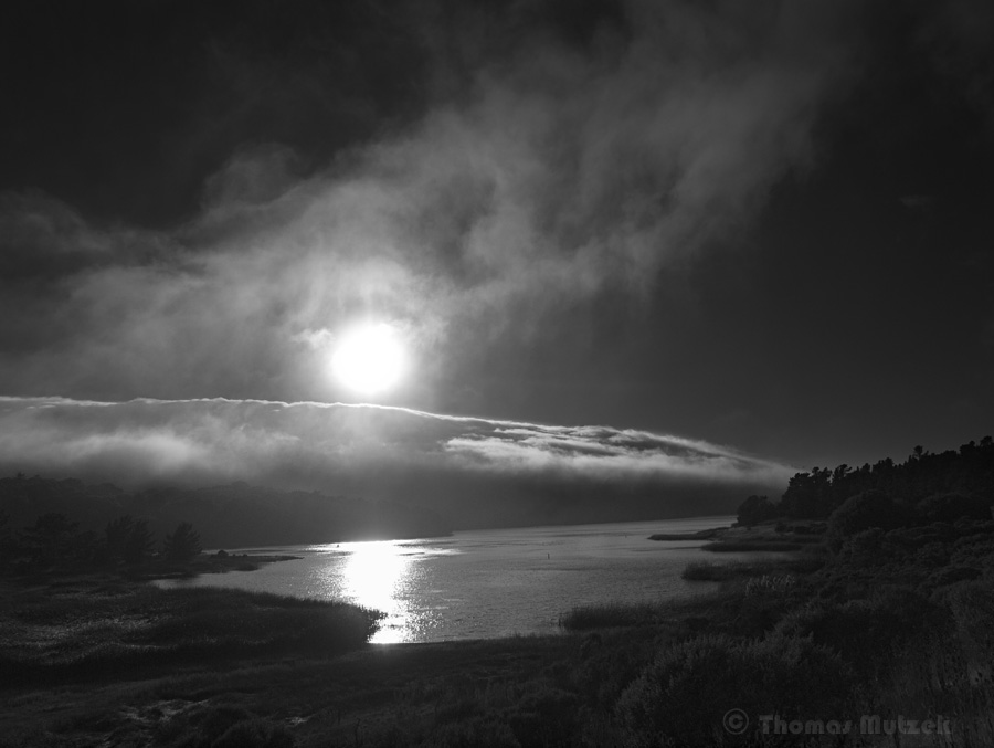 Crystal Springs Reservoir, San Mateo, California, August 2011