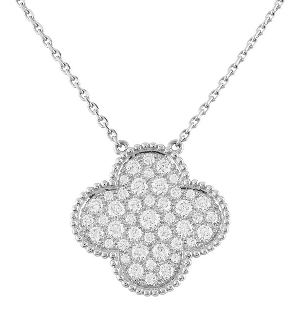 Van Cleef  Arpels - Magic Alhambra - 16 Motifs WG Diamonds Paved Long Necklace - ARN9MO00.jpg