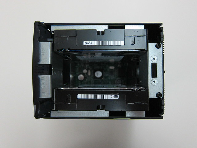 HDD Is Now Loaded Via The Top