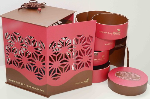 Marina Bay Sands Singapore Mooncake Packaging 2011