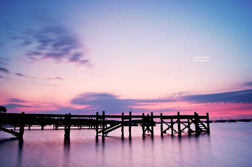 Sunset at Sandbanks