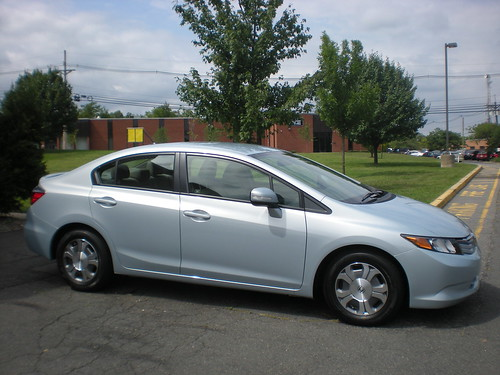Loaned Honda Civic Hybrid