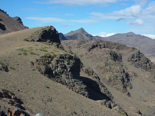 Pico de Tajos Altos, Pico del Elorrieta y el Veleta