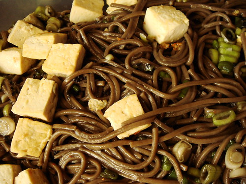 Soba Noodle Salad with Tofu