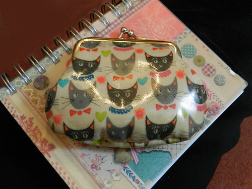 Accessorize coin purse & notebook