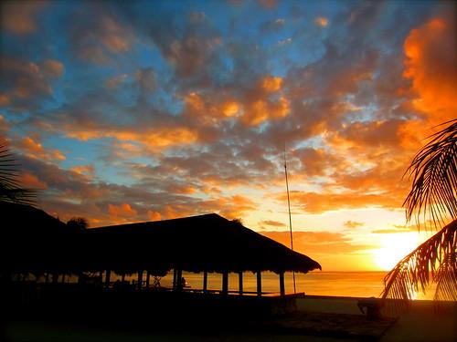Sunset at Nemberala Beach Resort