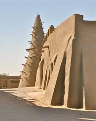 Djinguereber Mosque, #1 (**El-Len**) Tags: africa architecture mud earth mosque unesco westafrica mali timbuktu 14thcentury worldheritage sudanese toron fav10 djinguereber thegalleryoffinephotography sudanosahelian