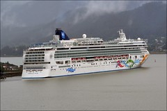 Cruise ship - Norwegian Pearl - Alaska (blmiers2) Tags: travel cruise alaska photography nikon ship cruiseship ncl norwegianpearl d3100 blm18 blmiers2