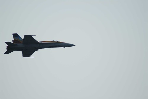 F-18 Fly Past