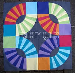 FTLOS Mini quilt top